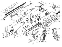AK 47 Kalaschnikow, AK 47 Ersatzteile, AK47 Waffen Teile, AK47 Gun Parts, AK47 Zubehör, AK47 Magazine, AK47 DDR, CDS Ehrenreich