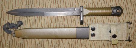 Toledo Cetme L Bajonett, original Bajonett, Sammler Bajonett, Blankwaffen, Seitengewehr, Säbel, neu und gebraucht Bajonette,